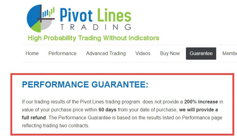 Pivot Lines Trading
